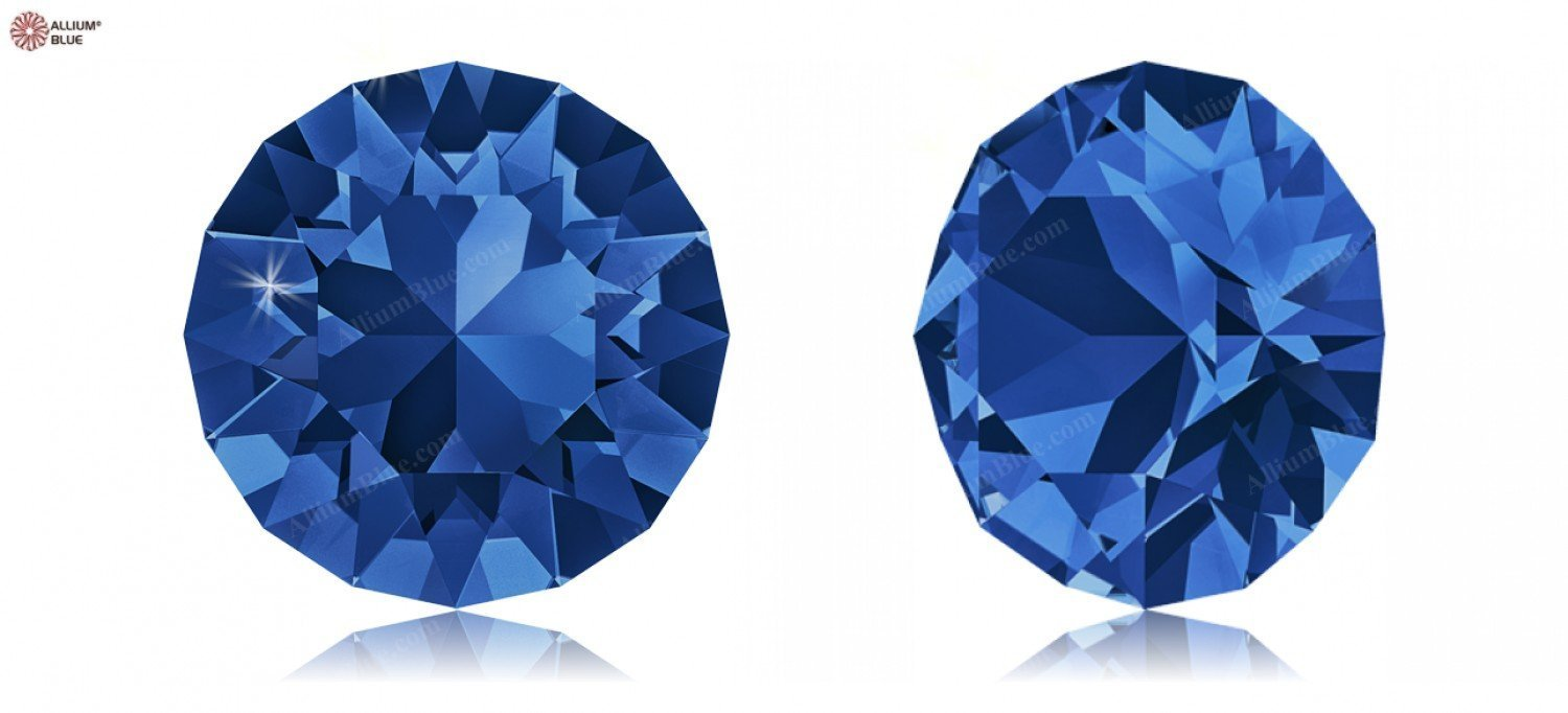PP24 (3.00  3.20 mm) Swarovski Crystals 1170731 Round Stones 1088 SS 34 CAPRI blueE F, 144 Pieces