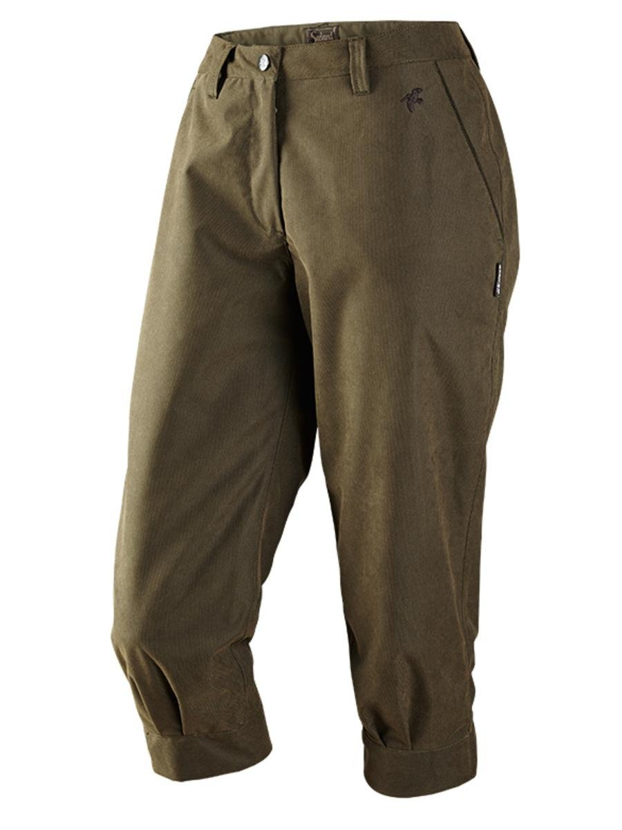 Did Women Wear Pants in the 1920s? Yes! sort of… Seeland Woodcock Lady Breeks Shaded Olive $115.99 AT vintagedancer.com