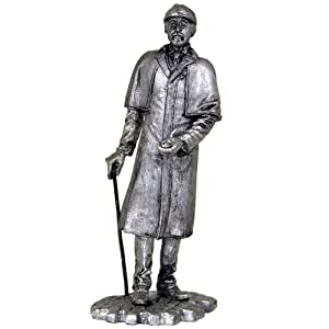 Sherlock Holmes. Sherlock Holmes stories. Sir Arthur Conan Doyle. Metal sculpture. Collection 54mm (scale 1/32) miniature figurine. Tin toy soldiers
