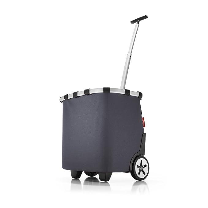 3 opinioni per Reisenthel Carrycruiser- Trolley per la spesa su rotelle, 42 x 32 x 48 cm grigio