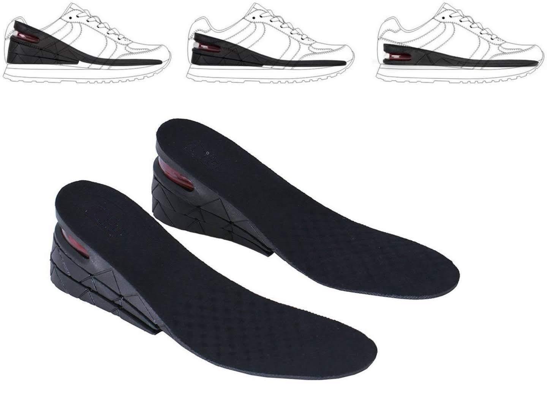 Full Length Memory Foam Height Increase Shoe Insole Insert Unisex Women Men