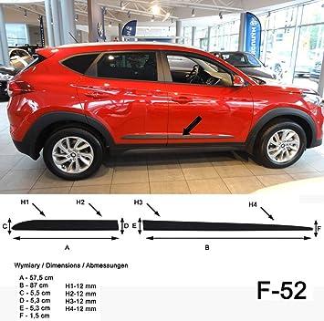 Spangenberg 370005201 - Listones de protección Lateral para Hyundai Tucson III de 5 Puertas Tipo TL