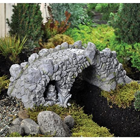 Fiddlehead Fairy Garden U0026quot;The Troll Bridgeu0026quot; (PLEASE NOTE TROLLS ...