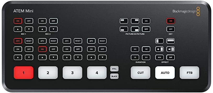 Amazon Com Blackmagic Design Atem Mini Hdmi Live Switcher Home Audio Theater