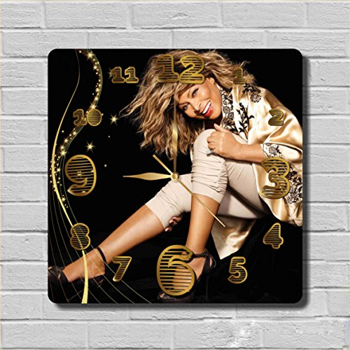 Tina Turner 11.8'' Handmade Wall Clock - Get unique décor for home or office – Best gift ideas for kids, friends, parents and your soul (Tina Turner Costume Ideas)