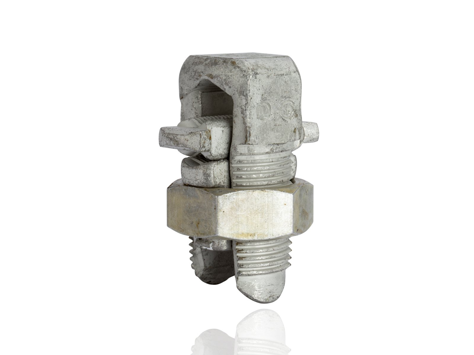 Aluminum Dual-Rated Split Bolt - APS Series, 0.368'' - 0.575'' Wire Diameter Range, 650lbs Torque by NSI