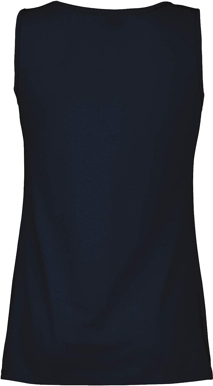Damen Lady-Fit Vest Tank Top T-Shirt verschiedene Farben und Gr/ö/ßen Shirtarena B/ündel