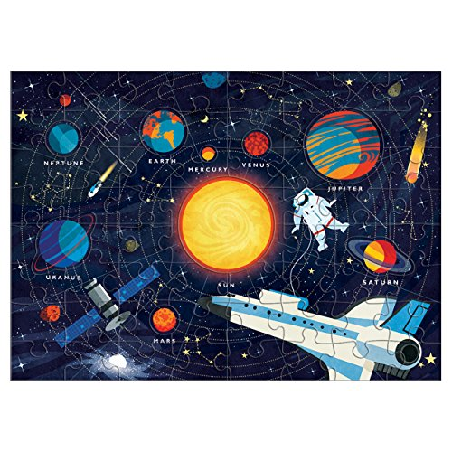 Mudpuppy Solar System Puzzle (70 Piece) by Mudpuppy (Image #1)