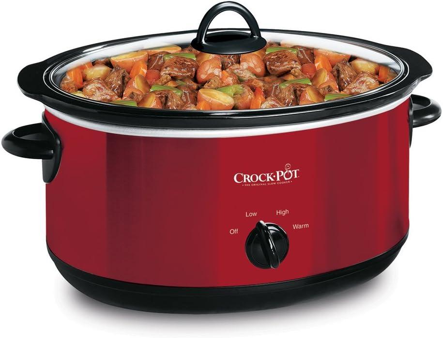 Crock-Pot , 6 quart, Red