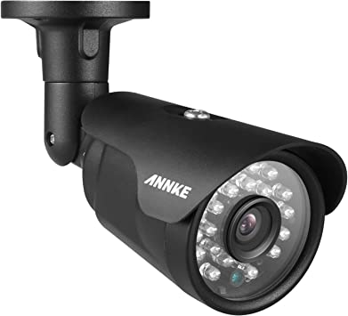 IP66 Weatherproof Analog Surveillance Camera for Indoor and Outdoor Use 100ft Clear Night Vision ANNKE 1080P Security Camera AHD//TVI//CVI//CVBS 4-in-1 CCTV Bullet Camera