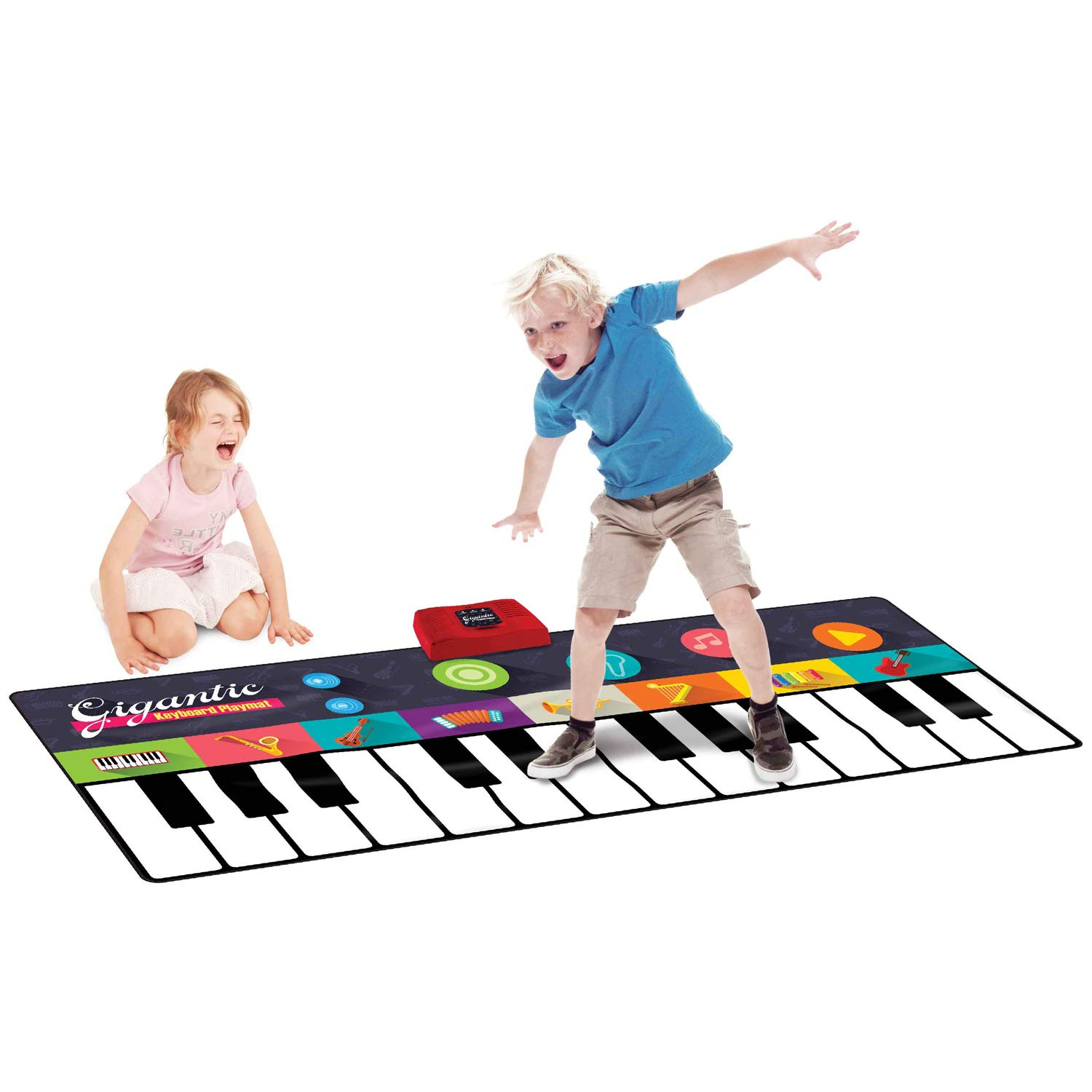 Giant Piano Keyboard Playmats Kids Fun Musical Foot Mat for Party Dance Games