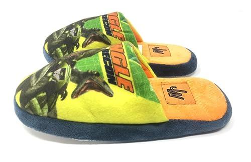 dise/ño de Dinosaurios para Interior Dino Rex Zapatillas de Andar por casa