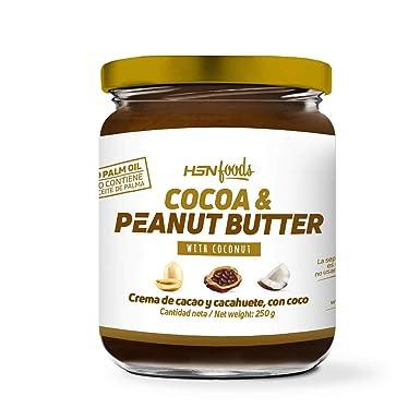 Crema de Cacao con Cacahuete y Coco de HSN Foods   100 ...