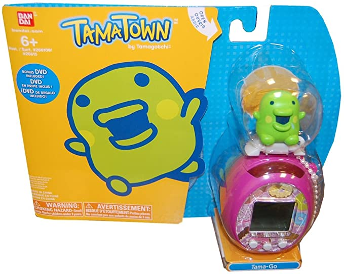 Amazon Tamagotchi Tamatown Pink And Green Tama Go With