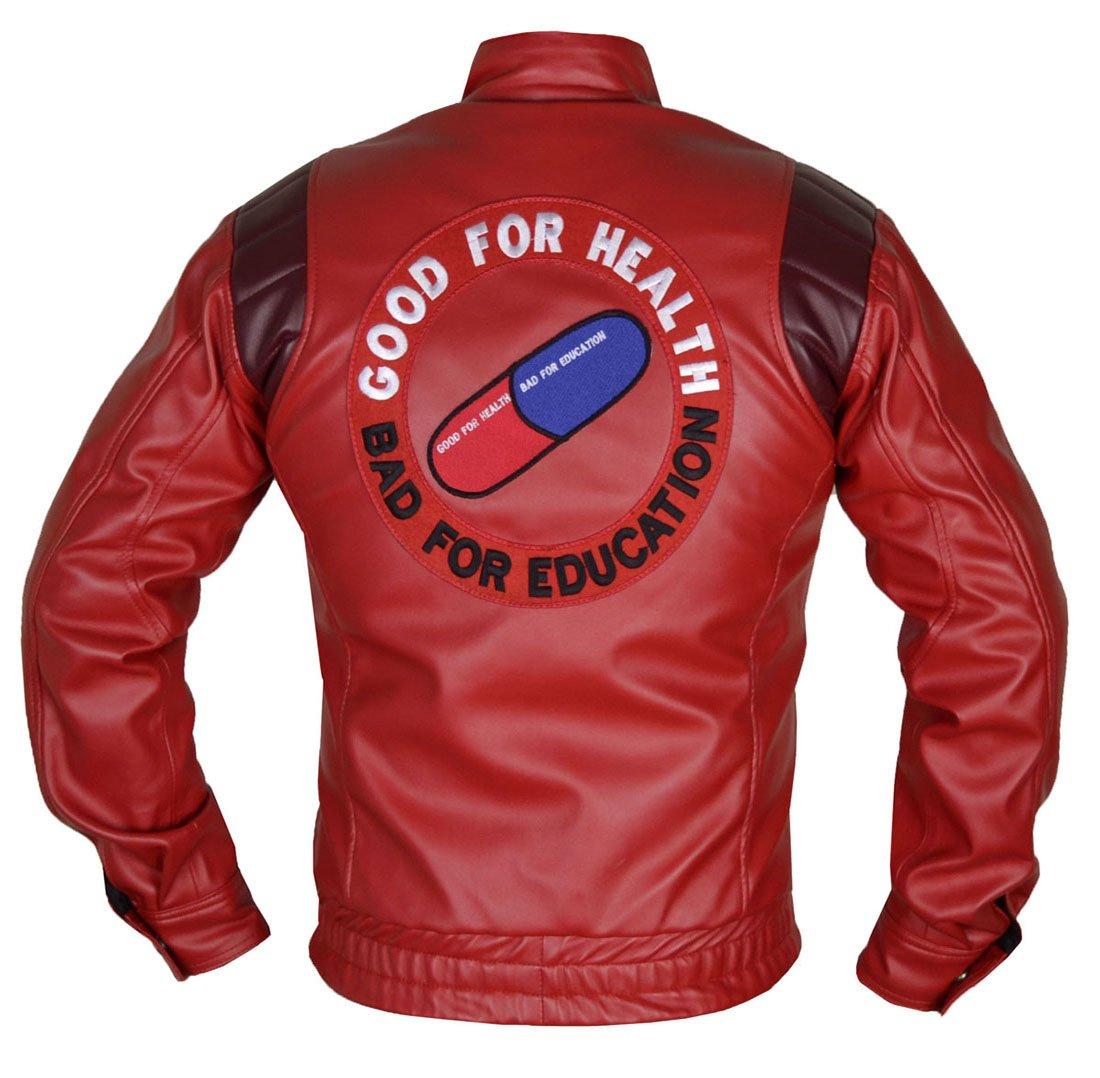 MSHC Men's Akira Manga Faux Leather Jacket XL Red
