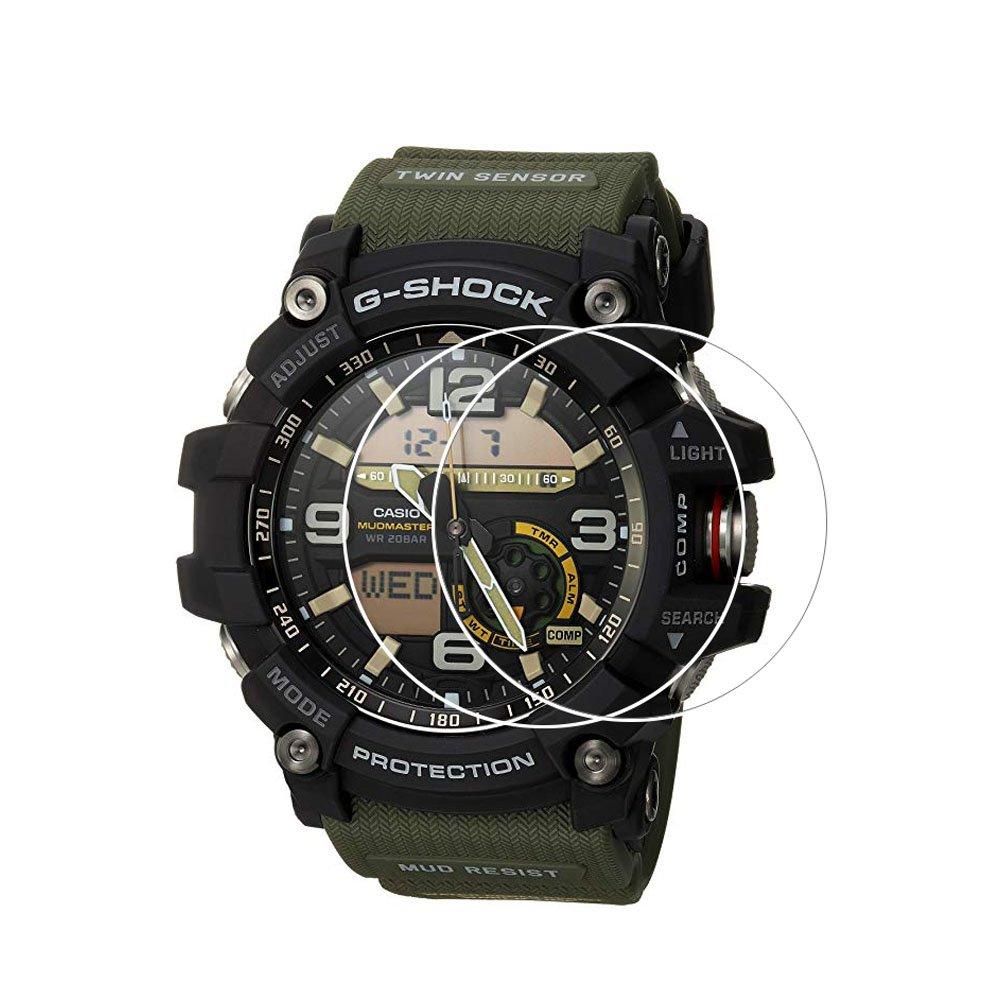 Zshion Casio GG-1000 - Protector de Pantalla para Casio G-Shock GG1000 (2 Unidades, Cristal Templado, dureza 9H, antihuellas, sin Burbujas): Amazon.es: ...