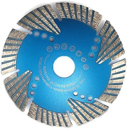 Feinsteinzeug keine /Überhitzung harte Werkstoffe 15mm Segmenth/öhe super geeignet f/ür starke Beanspruchung Beton durch Schutzsegmente besonders Stabil Granit Turbo Diamant-Trennscheibe /Ø 125mm