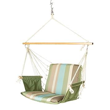 Slack Jack Safari Fabric Swing (Green, Blue and Brown)