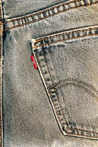 LEVIS: 6x9 vintage Levi's denim jeans lined journal for denimheads