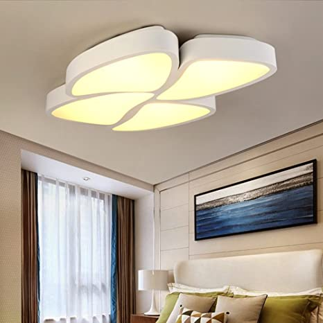 HOMEE Luz de techo- moderno simple led cálido y romántico ...