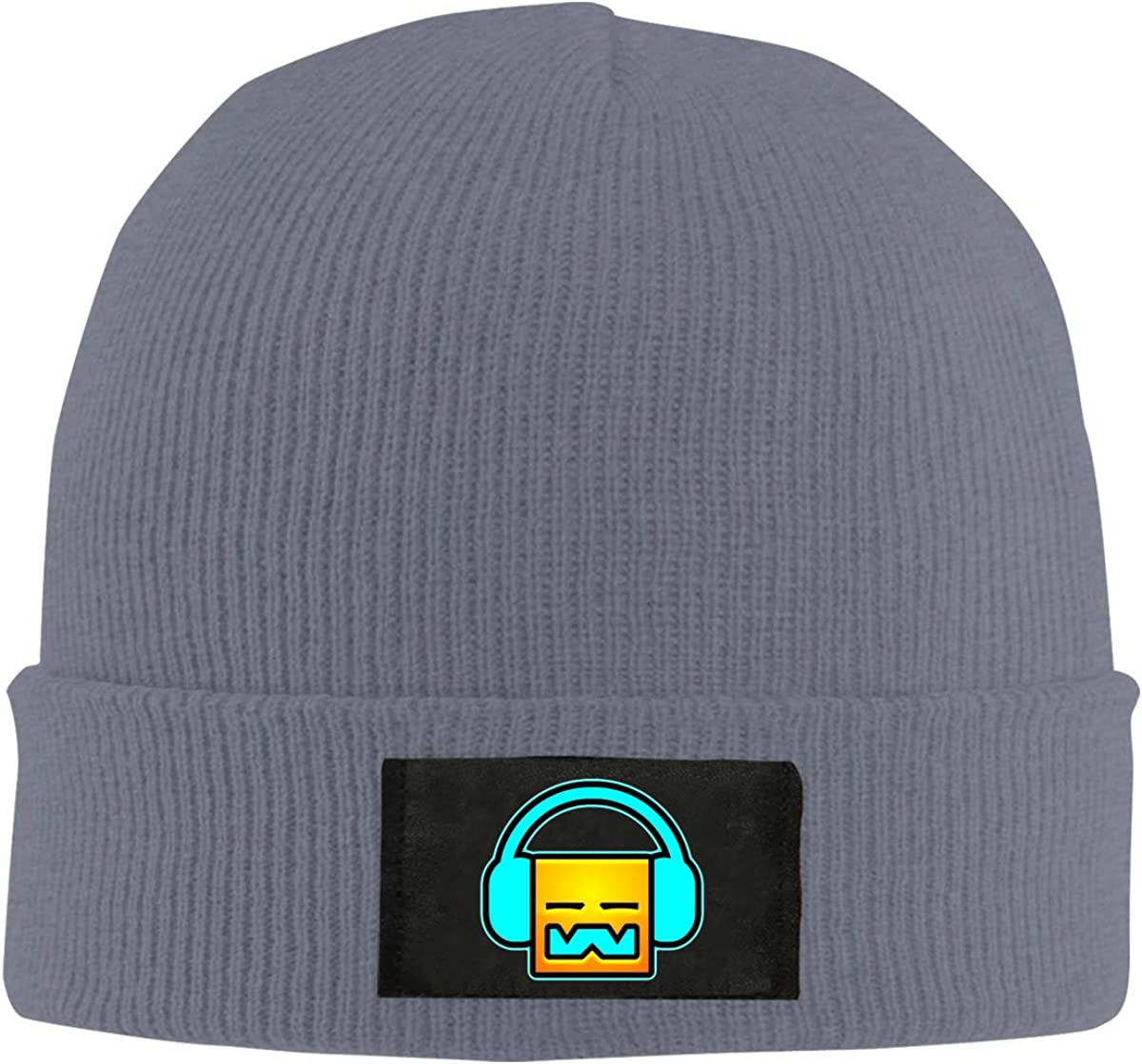 SHOEWPQIA Geometry Dash Beanie Hat Soft Unisex Knit Cap for Men/Women