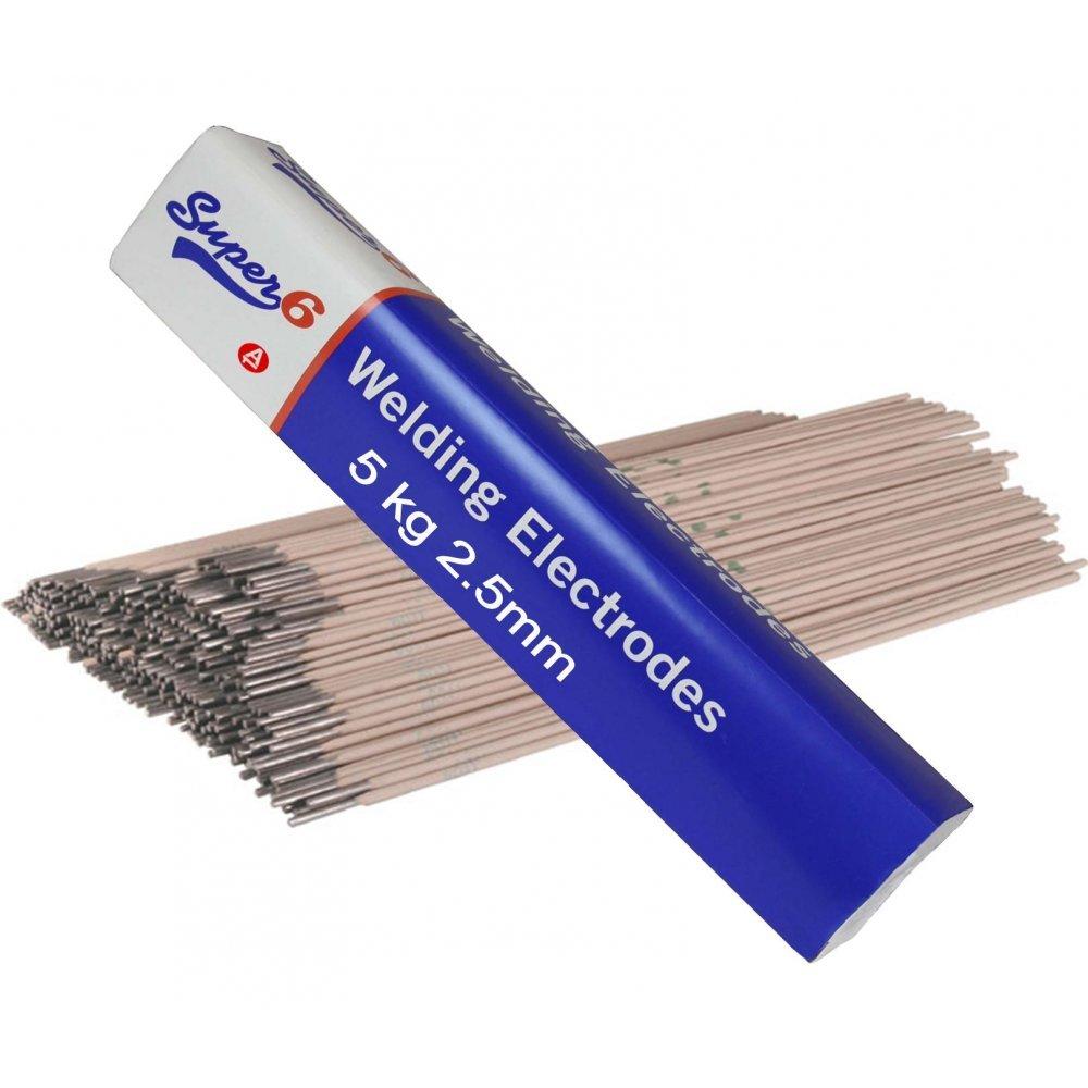 SWP 6013 - Electrodos para soldadura al arco (5 kg, acero dulce, 2,5 mm): Amazon.es: Industria, empresas y ciencia