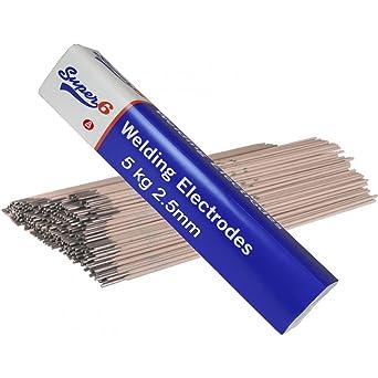 SWP 6013 - Electrodos para soldadura al arco (5 kg, acero dulce, 2