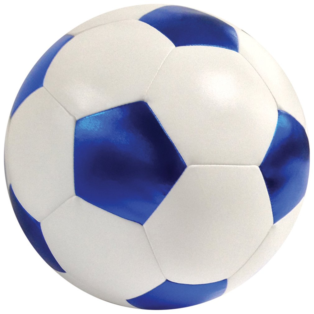 iscream Game On! Soccer Ball Shaped 13'' x 13'' Microbead Accent Pillow by iscream