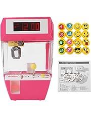 Mini reloj creativo creativo con pantalla LCD 2 en 1, despertador electrónico para grúa máquina de juguete reloj despertador creativo juego de garra electrónica para grúa