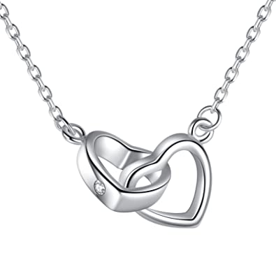main multi curve linked necklace circle lana link