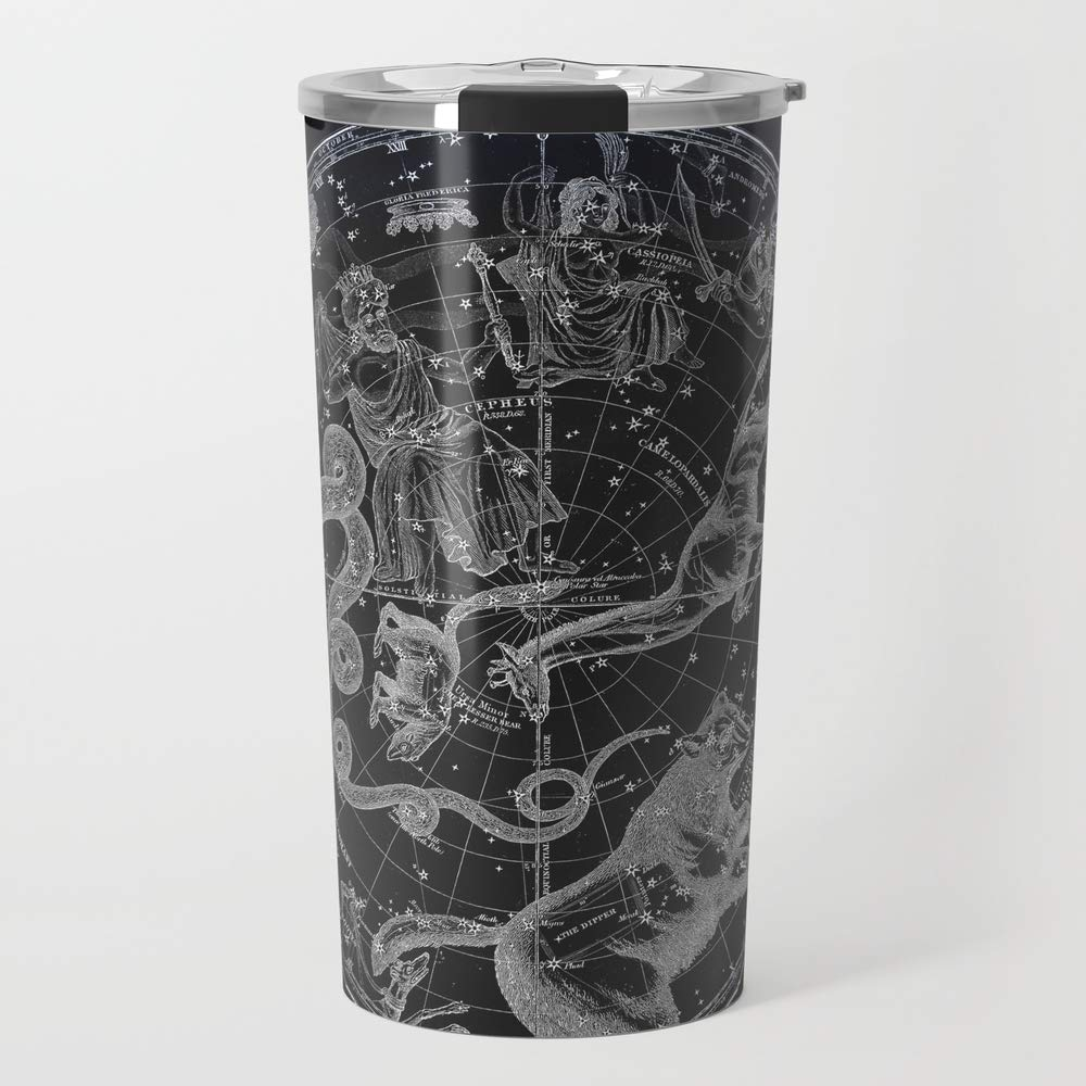 Society6 NY, constelaciones Metal taza de viaje 15 oz: Visionary Creations: Amazon.es: Hogar