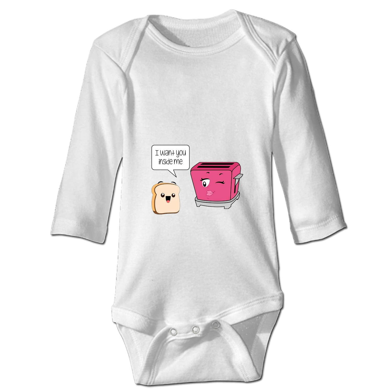 WilBstrn Modern Scandi Tulips Baby Infant One Piece Bodysuit Clothes
