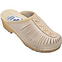 ESTRO Zuecos De Madera para Mujer Calzado Sanitario De Trabajo CDL01