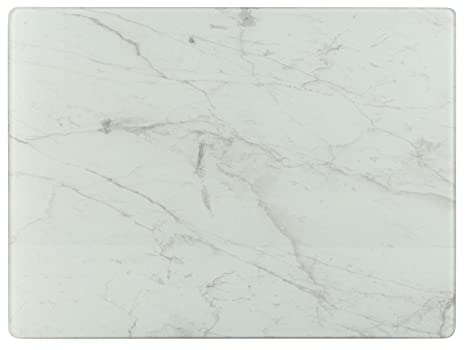 Protezione Piano Di Lavoro Cucina.Creative Tops Lastra Di Protezione Per Piano Di Lavoro Effetto Marmo Trasparente