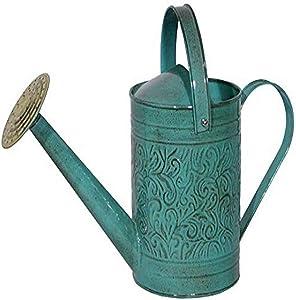 Robert Allen Home & Garden MPT01182 Metal Watering can, 1 Gallon, Surf