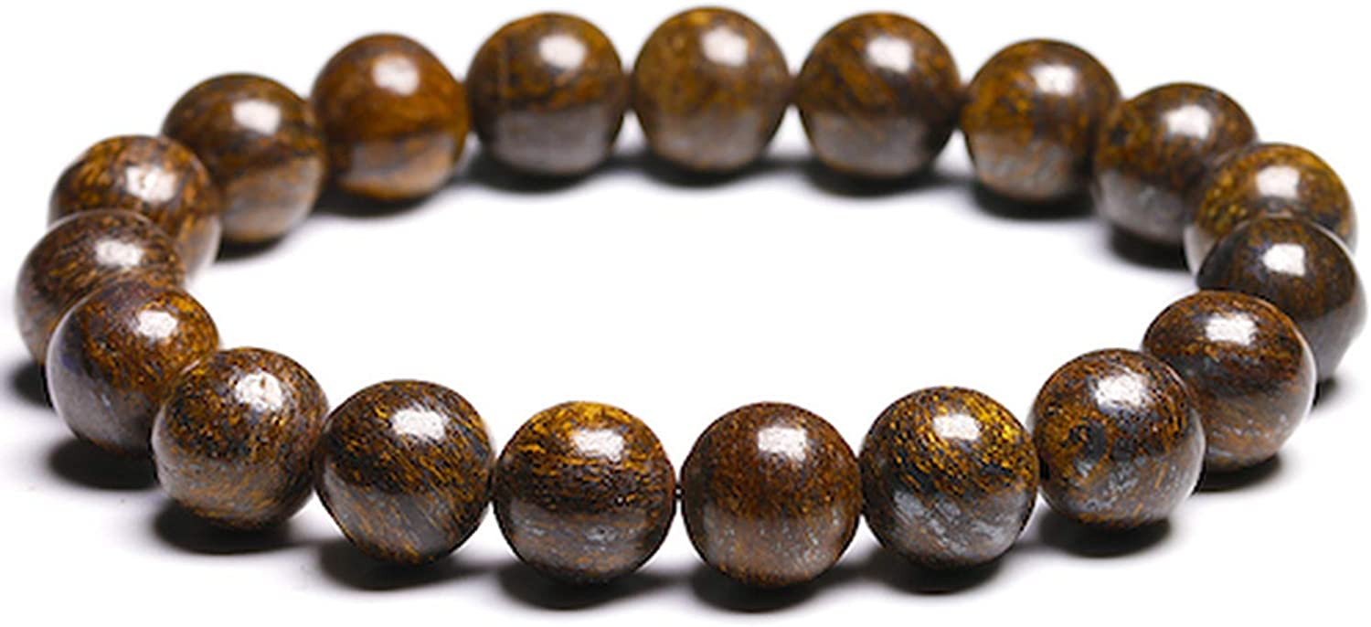 mimi forever 6mm 8mm 10mm Round Natural Gray Pyrite Stone Semi Precious Beads for Bracelet Women Men Jewelry