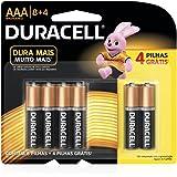 Duracell Duralock Pilha Alcalina AAA - c/ 12 unidades