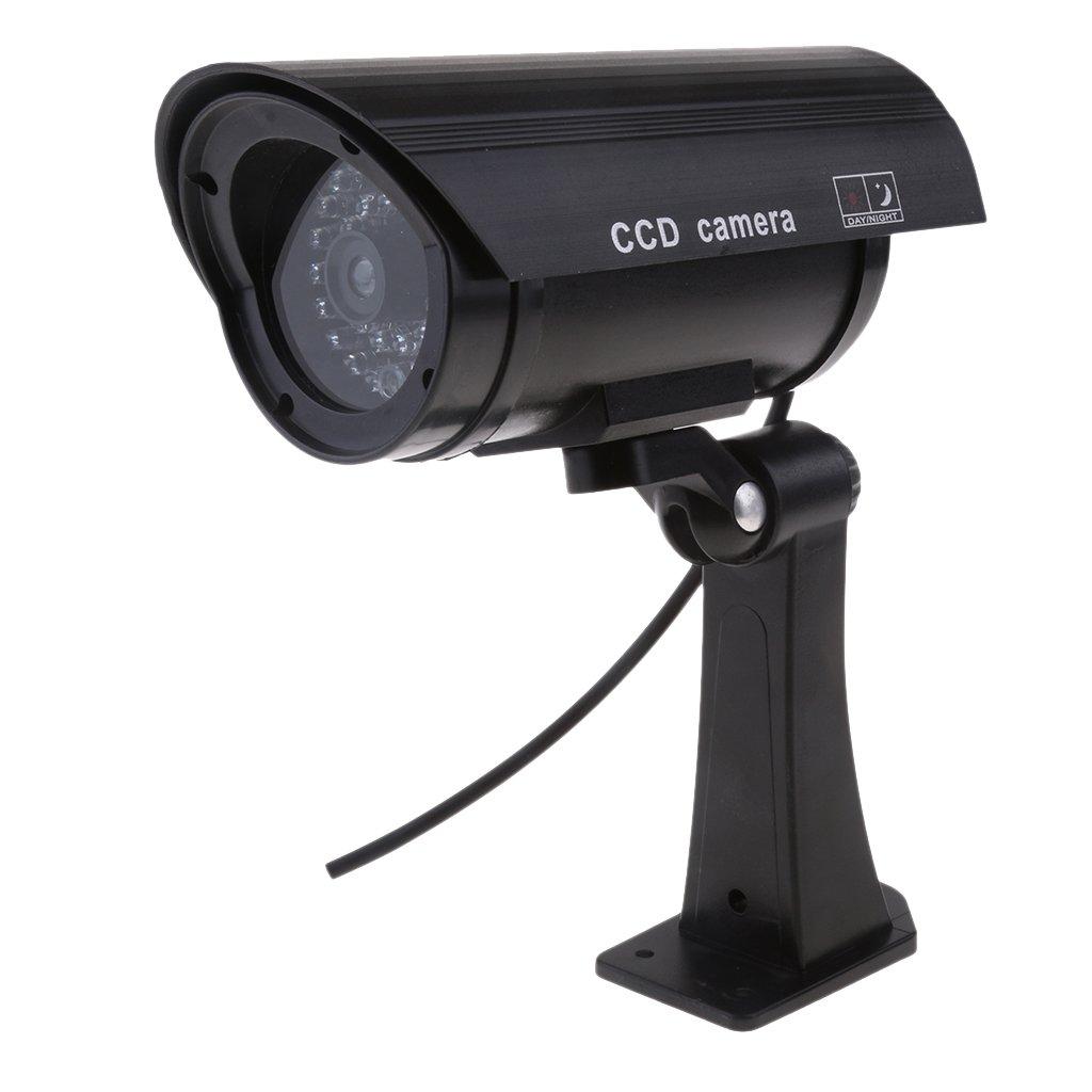 【売り切り御免!】 baosityブラックダミーセキュリティカメラリアルな外観で録音点滅赤色LEDライトインドアとアウトドア使用、Homes &ビジネスの B07CXFT1BC B07CXFT1BC, クビキムラ:51c9ff83 --- martinemoeykens-com.access.secure-ssl-servers.info
