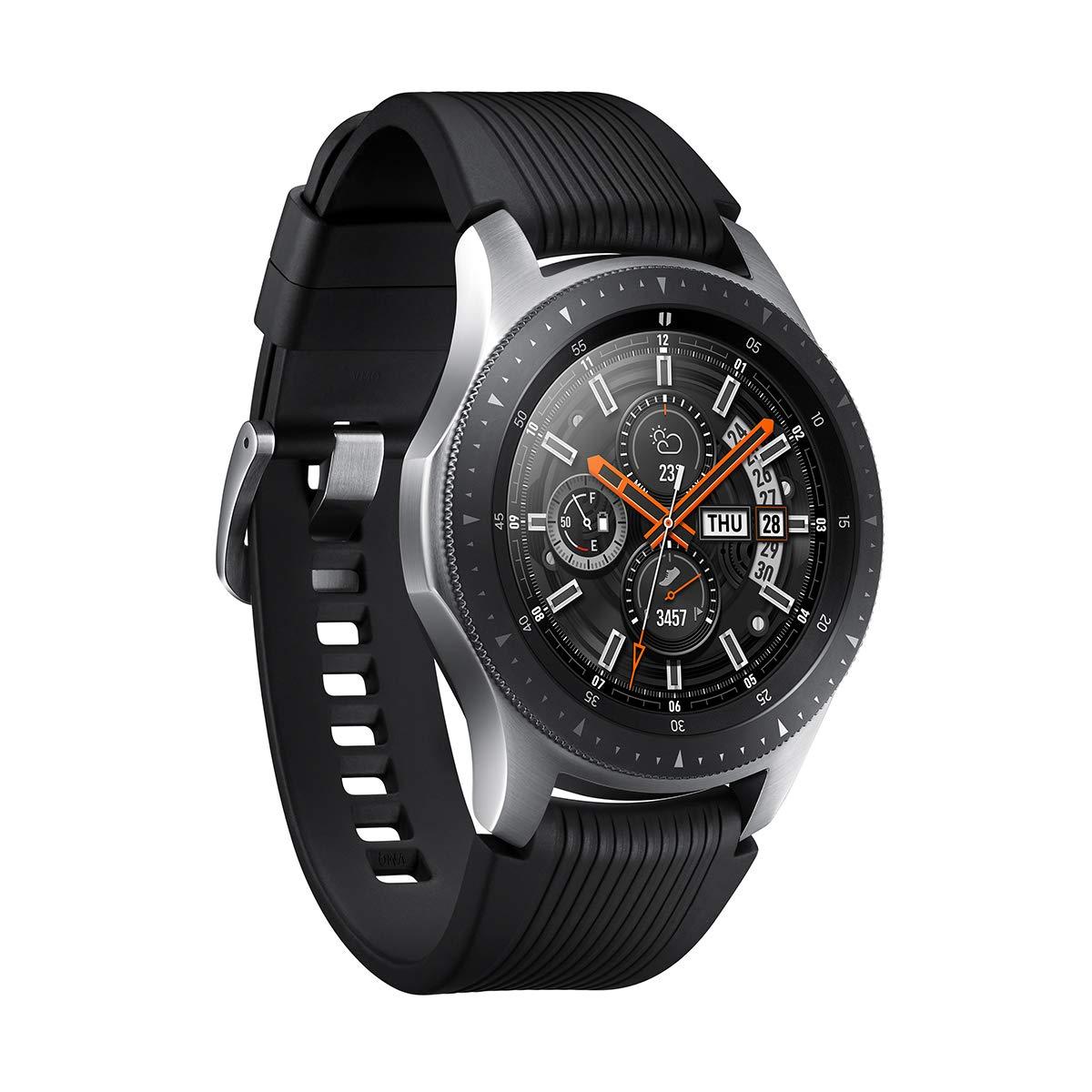 Samsung Galaxy Watch - Reloj inteligente LTE (46 mm) color plata ...