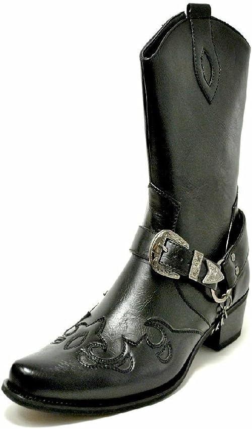 Us Brass, Stivali da cowboy uomo: Amazon.it: Scarpe e borse