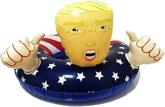 Amazon.com: Donald Trump - Flotador inflable para piscina ...