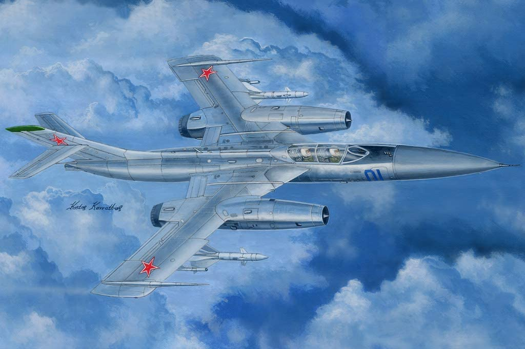 Plastic Model Building Set # 81767 Hobby Boss 1//48 Scale Russian Yak-28P Firebar