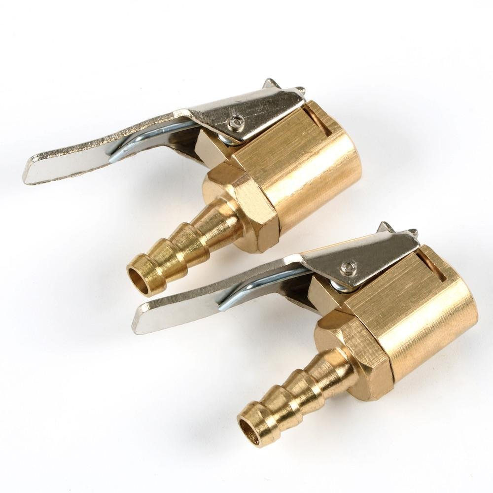 Yahee Momentstecker 6mm Messing 2 Stü ck Hebelstecker Ventilstecker Druckluft