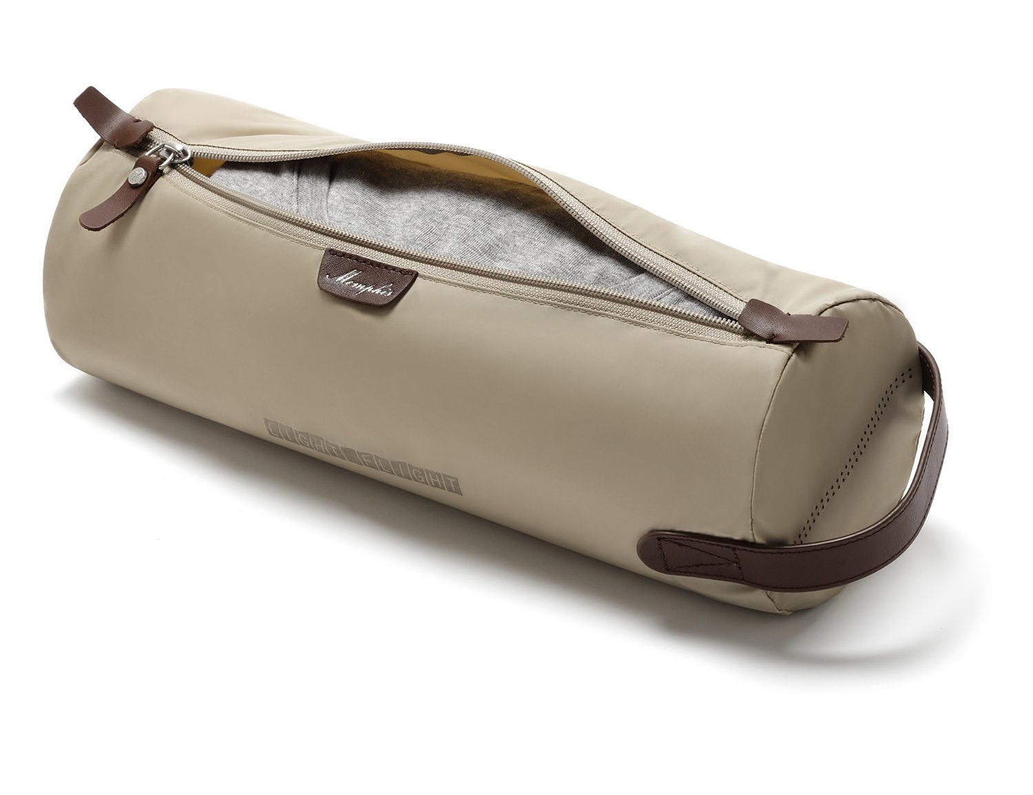 LIGHT FLIGHT Slim Roll Large Packing Pouch Travel Packing Organizer for Carry-on Luggage, Suitcase, Beige