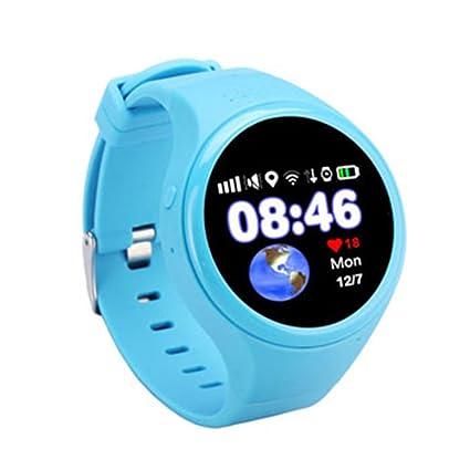 PINCHU T88 New Baby Smartwatch Relojes para Niños Reloj Inteligente GPS Podómetro Sos Llamada Teléfono Redondo