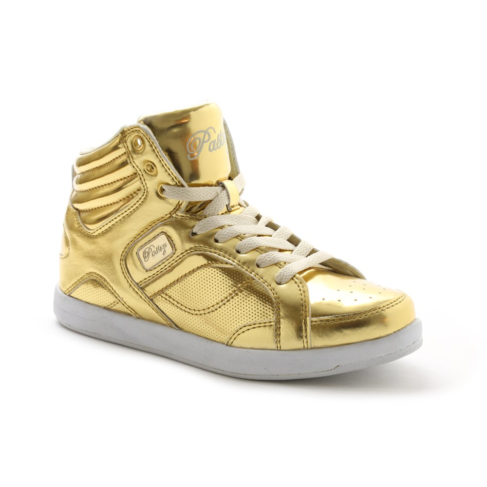 Pastry Unisex Sweet Court Sneaker B0158WQ3KA 6 M US|Gold