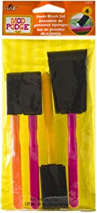 Mod Podge FBA Scrapbooking Foam Brush Set, (4-Piece), Assorted 4 Count