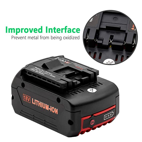 Amazon.com: KINGTIANLE 18V 5.0Ah Li-ion Replacement for ...