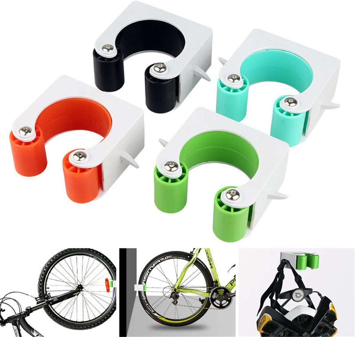 Fahrradparkschnalle Indoor-Fahrradparkplatz Fahrrad Wandhalterung Haken Fahrrad Rennrad Parkwerkzeuge F/ür Platzersparnis