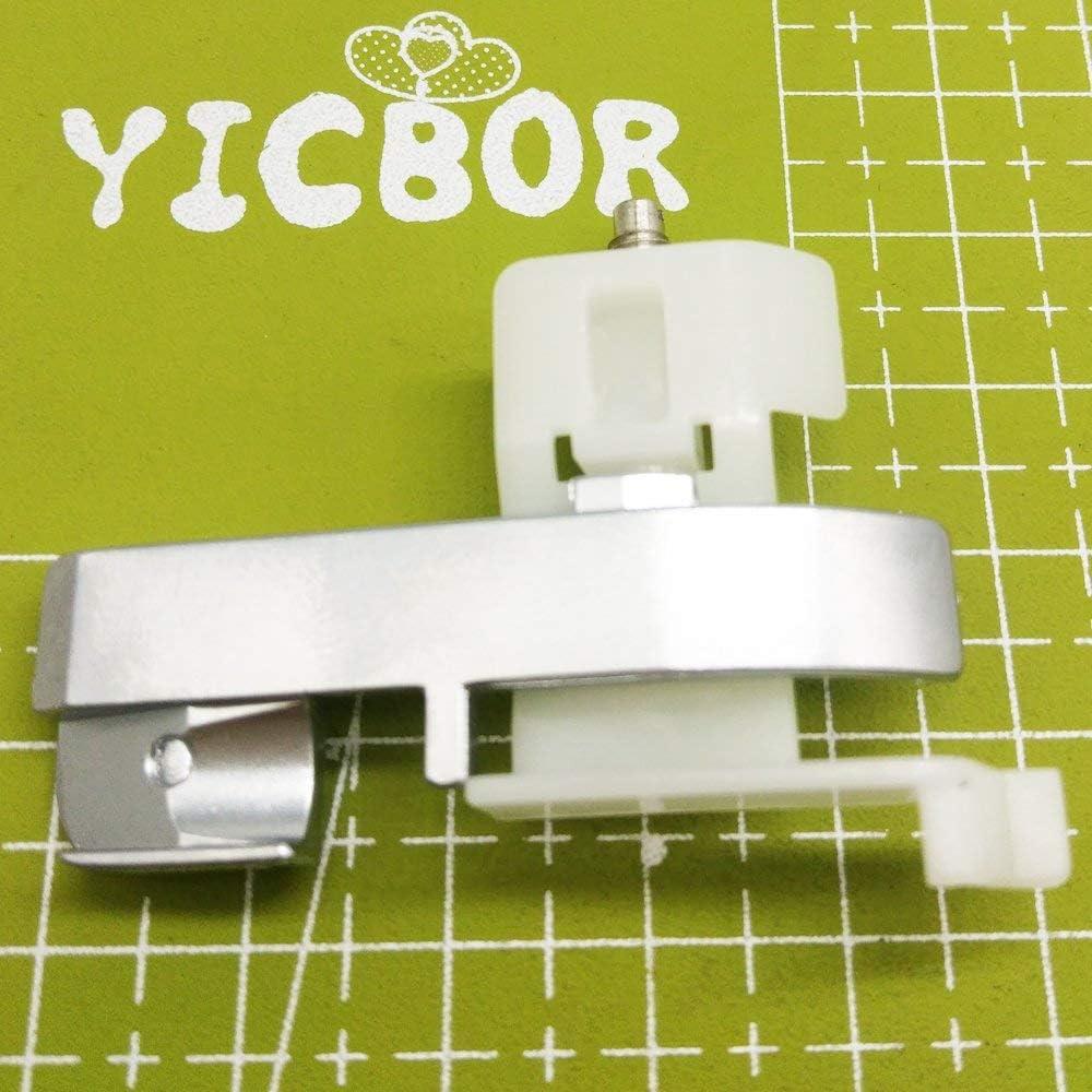 yicbor Domestic N/ähmaschine unsichtbar Rei/ßverschlussfu/ß f/ür Singer Brother Janome Juki Toyota 7306/a